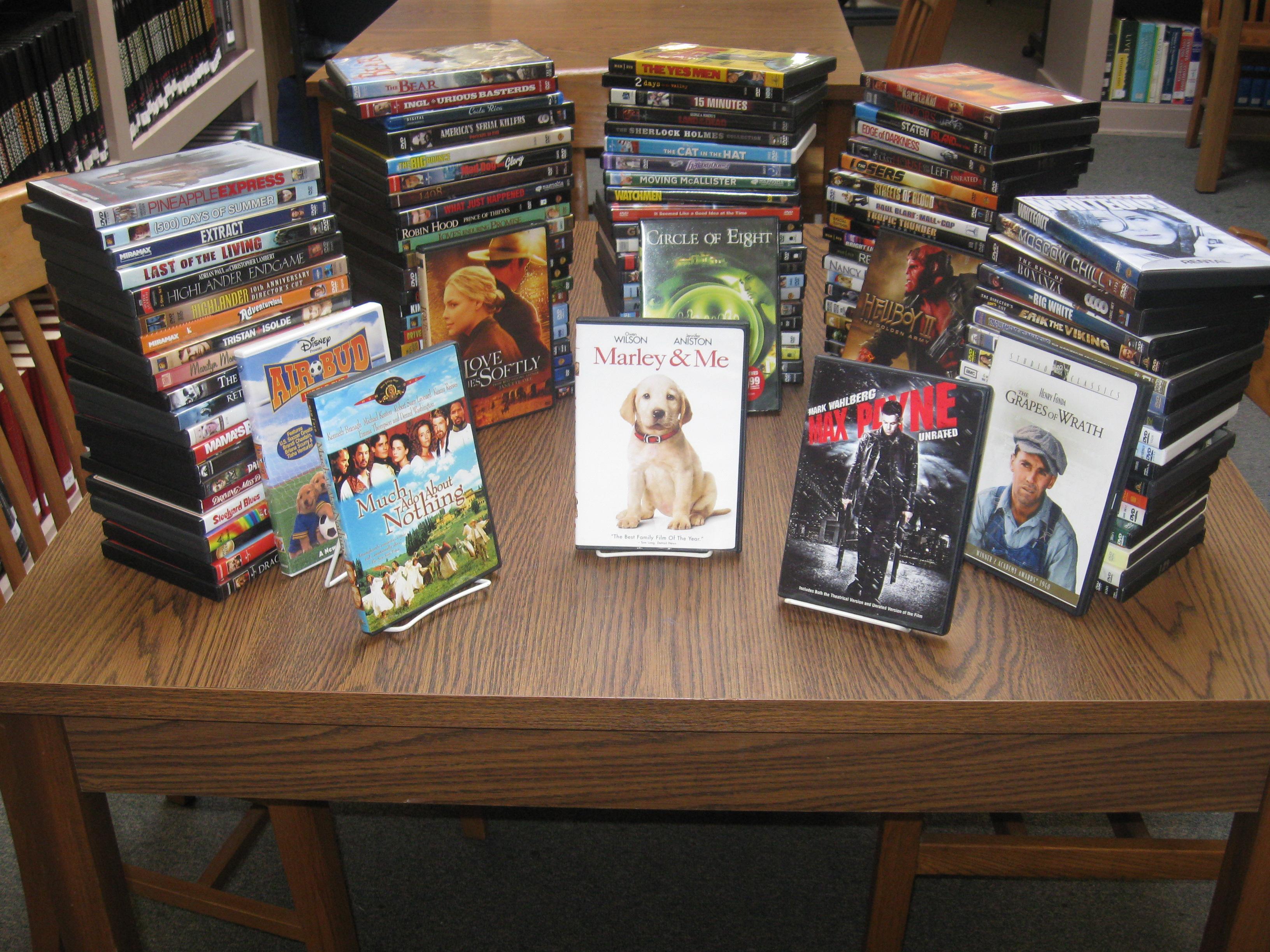 Donated Movies